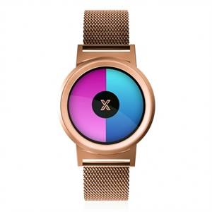 XWATCH ROSE GOLD UNİSEX KOL SAATİ